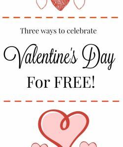 Three Ways to Celebrate Valentine's Day for Free