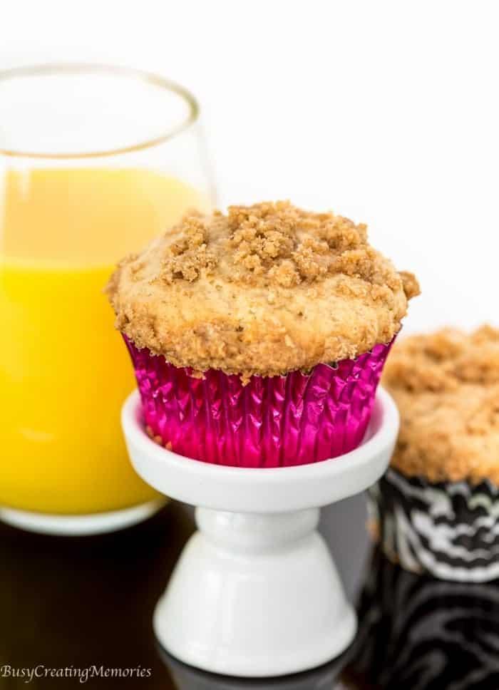ヾ(^ ^)ノSpice Crumble Cinnamon Muffins ᗔ Recipe Recipe ...