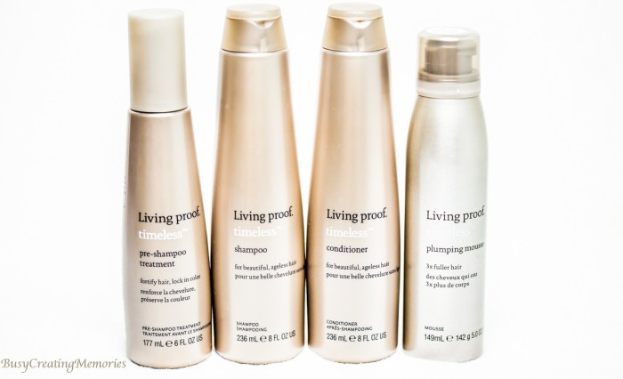 Bringing hair back to life with Living Proof Timeless Collection