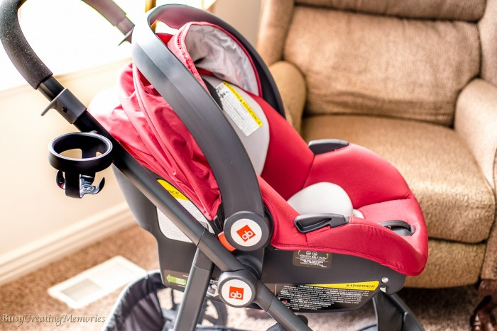 GB Lyfe Pram Travel System makes Walking with Baby a breeze!