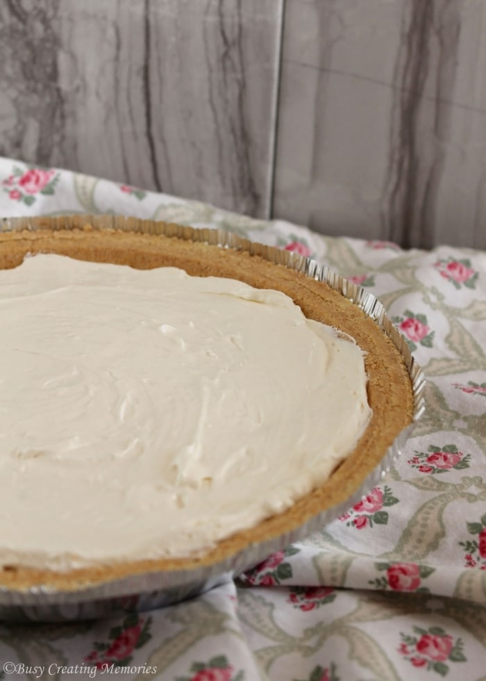 Key Lime Pie - Still delicious, even though it's not green!