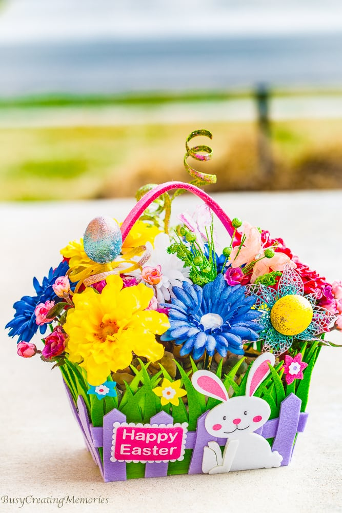 Easy DIY Spring Floral Centerpiece Craft