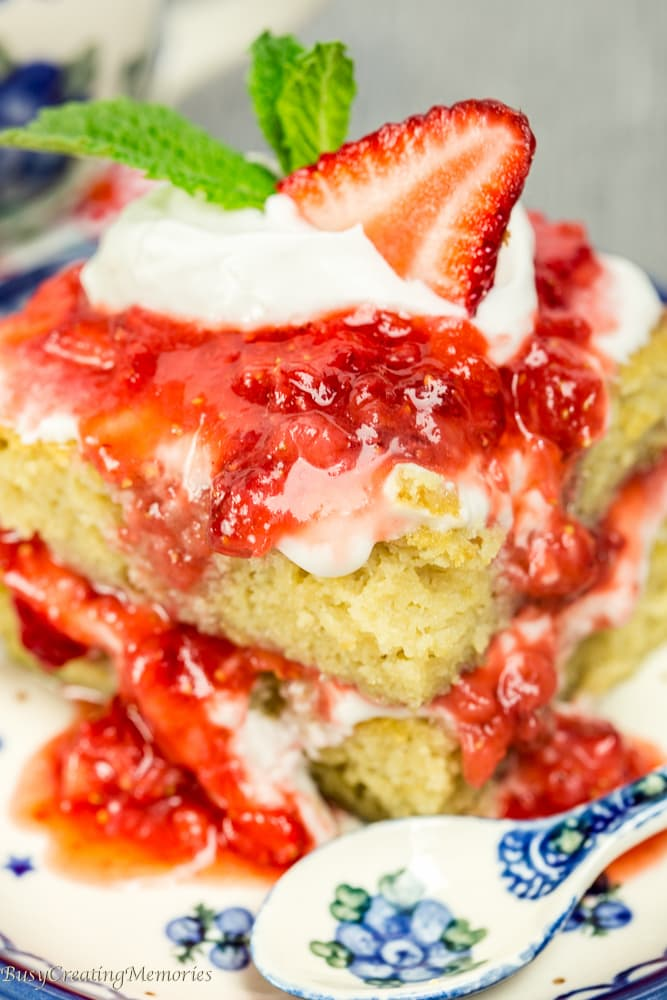 Paleo Strawberry Shortcake - A dessert to feel good about!