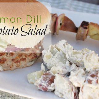 Lemon Dill Potato Salad pairs perfectly at any BBQ!