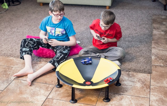 MAY THE SpinForce BE WITH YOU - remote controlled Battle Game