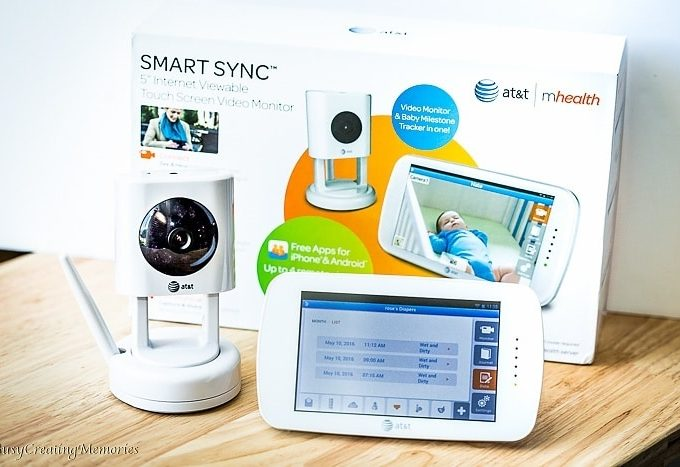 Keep Track of Baby with Baby's Journey Smart Sync Baby Monitor