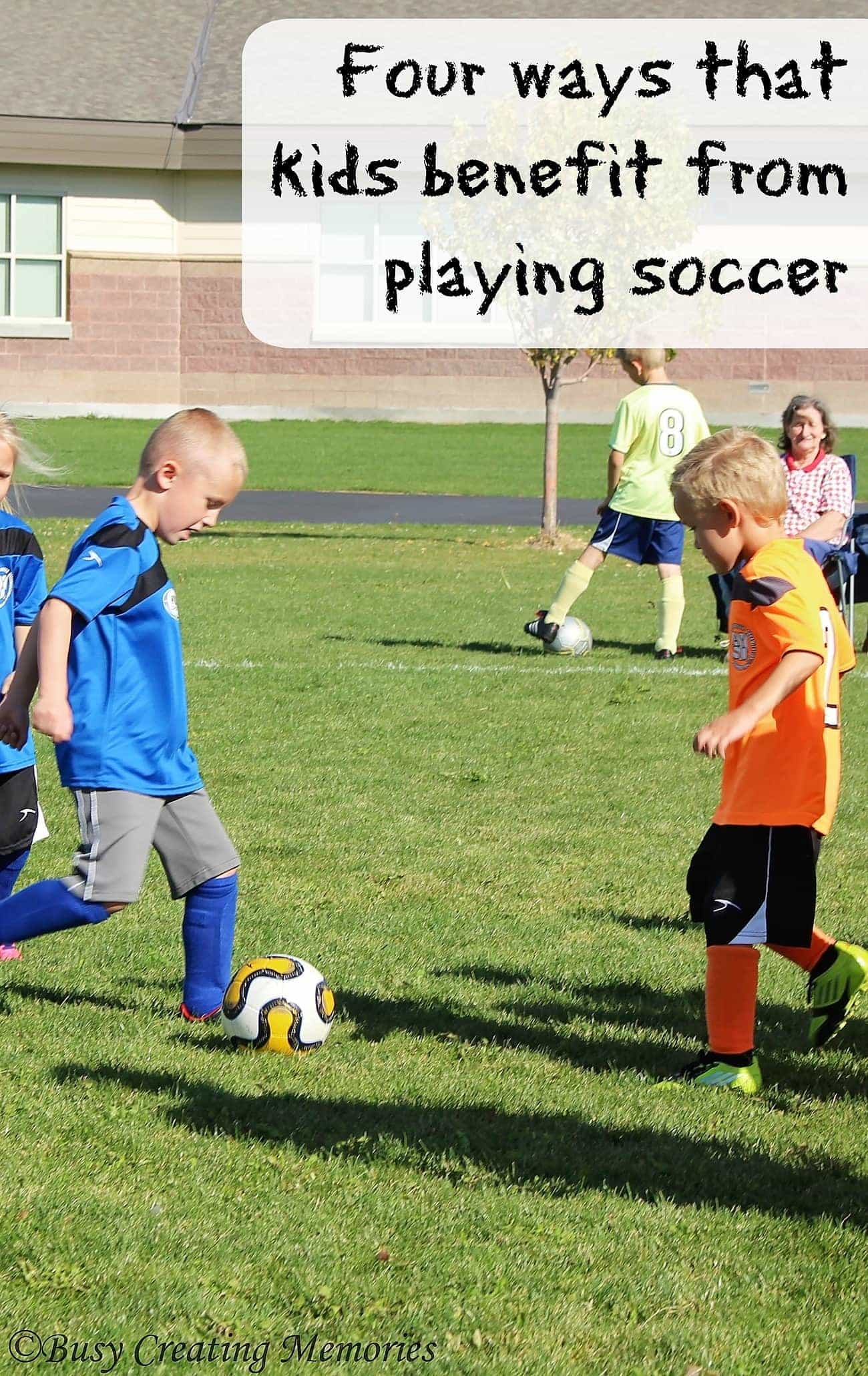 Four ways that kids benefit from playing soccer