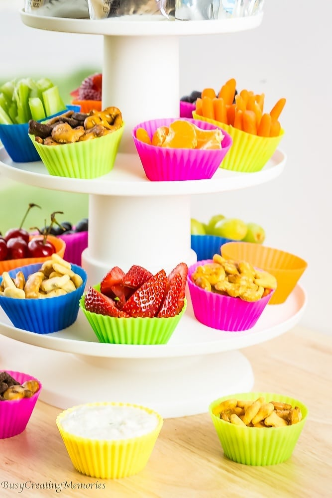 All Day Kids Snack Station for Easy Summer Snacking