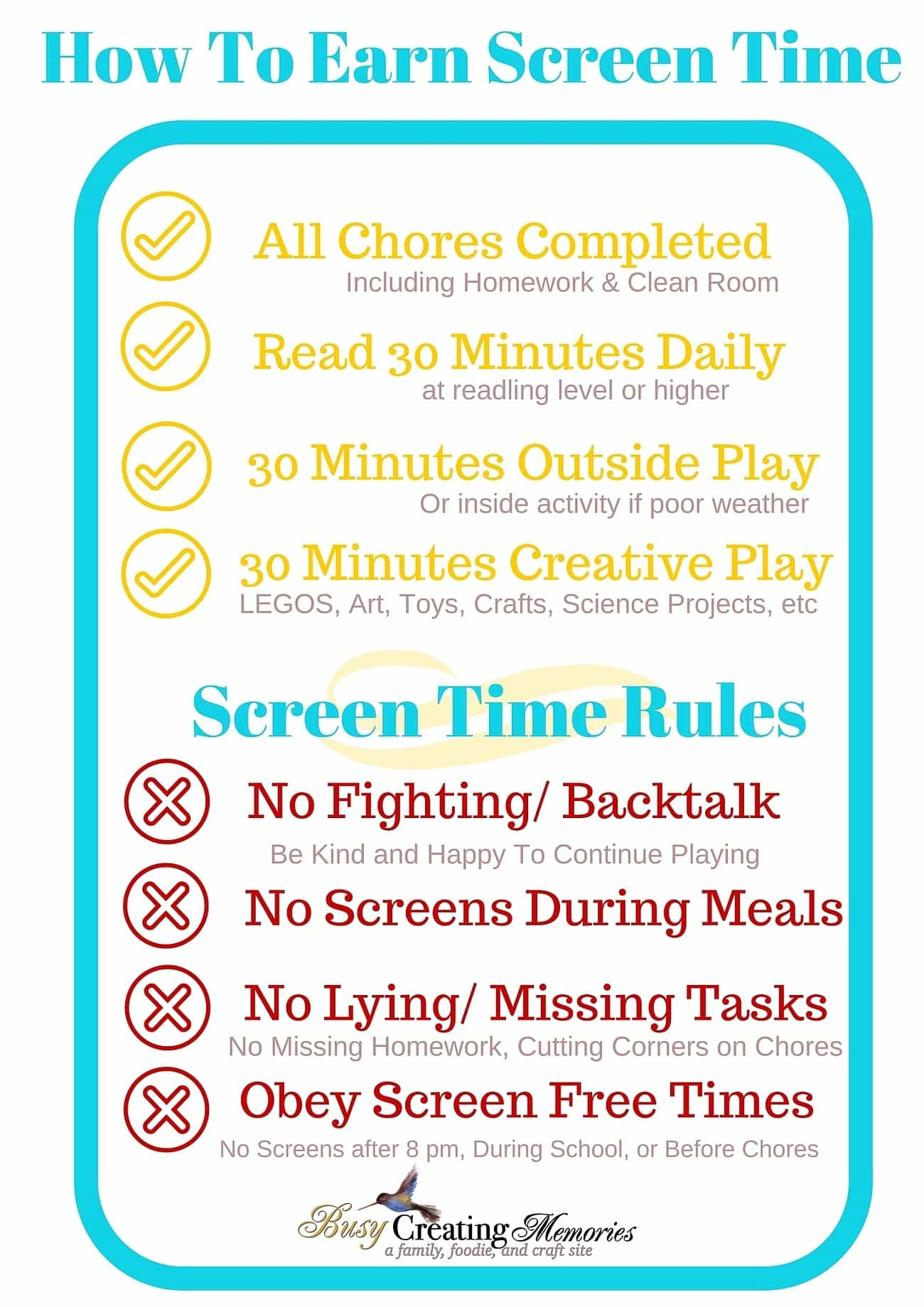 how to teach responsible screen time use to kids free
