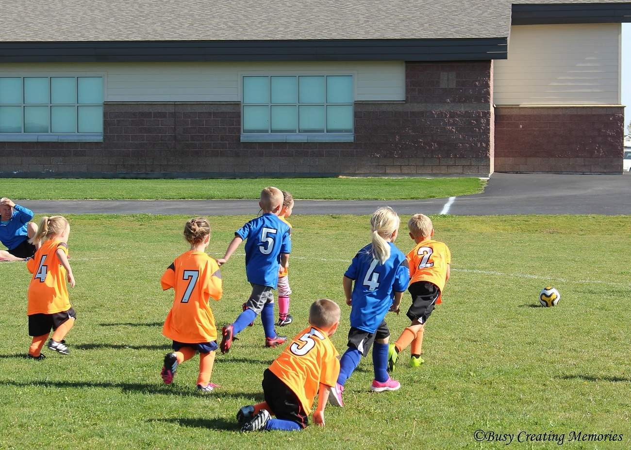Kids benefit from playing soccer