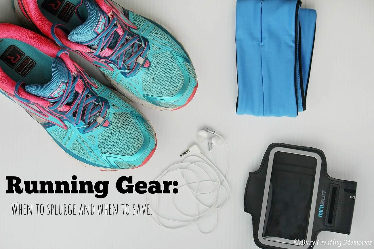 Running Gear - know when to splurge and when to save