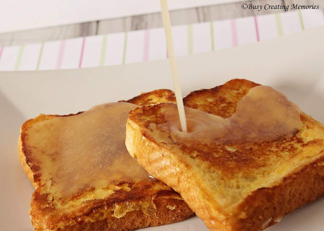 Stuffed French Toast is totally satisfying