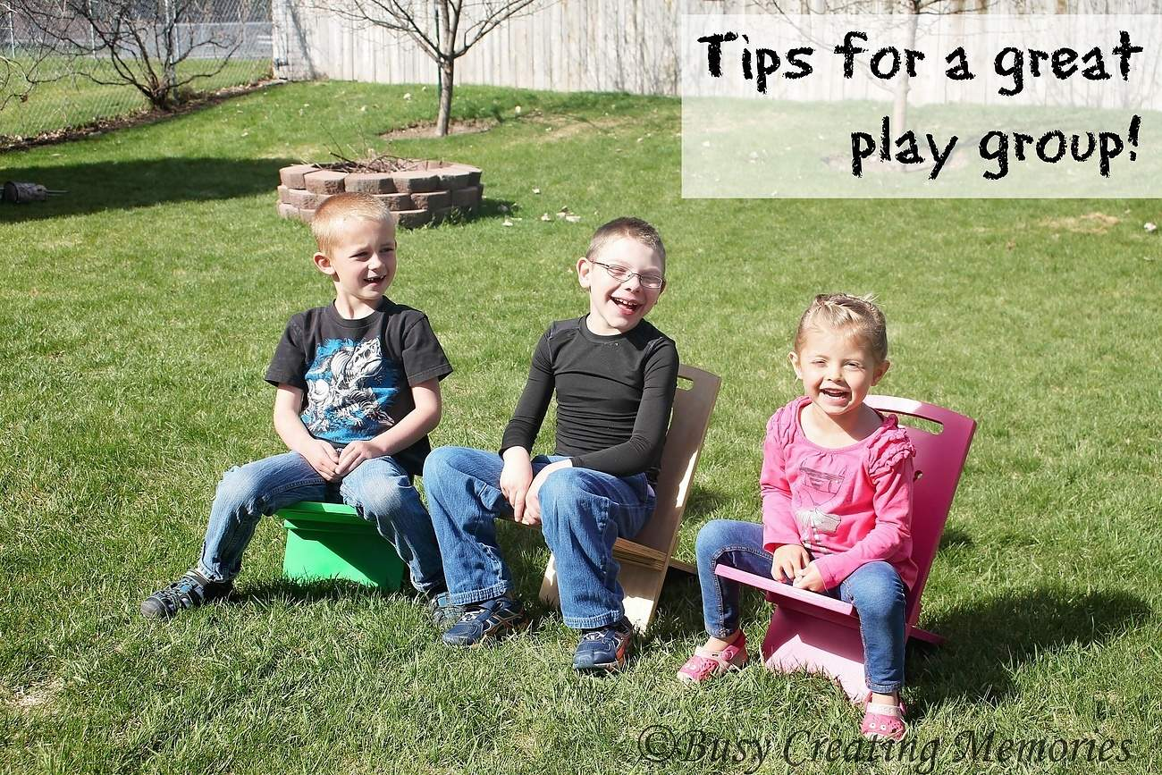 Tips for a great playgroup