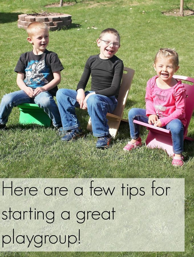 Tips for a Successful Playgroup