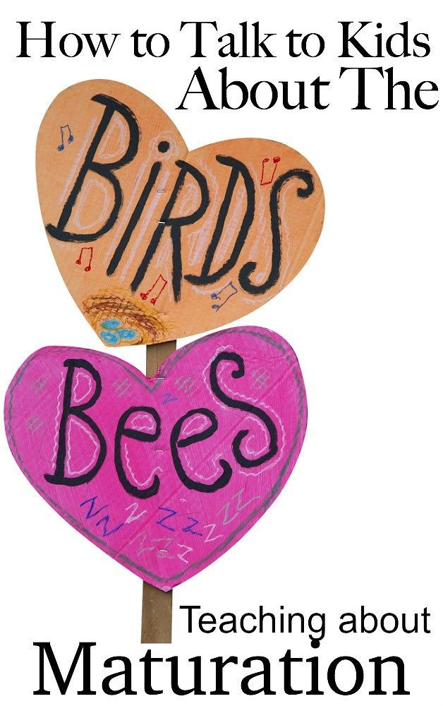 How to Talk to Your Kids About the Birds and the Bees