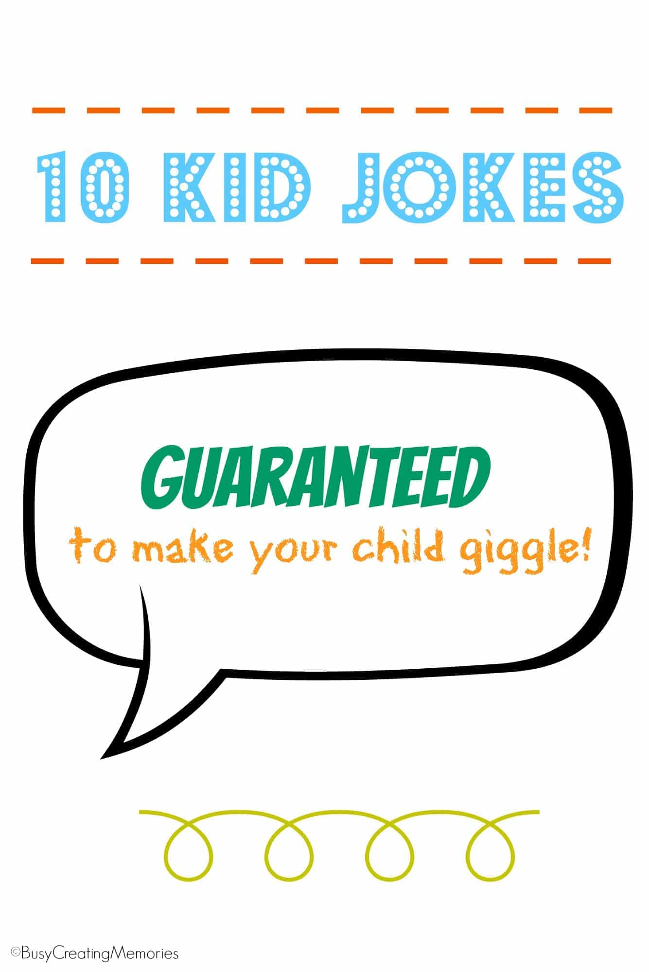 10 kid jokes guaranteed to make your child giggle!