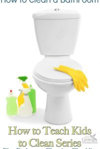 How to Clean a Bathroom + Bathroom Cleaning Checklist Printable
