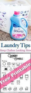 Laundry Tips to keep our clothes looking new