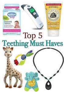 Top 5 Teething Must Haves
