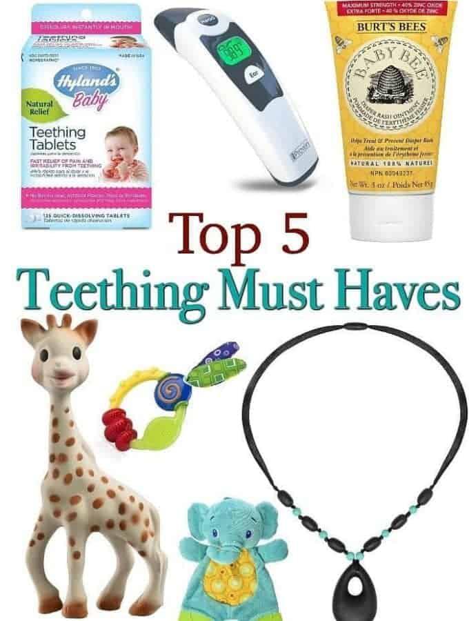 Top 5 Teething Must Haves