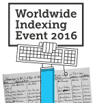 The Gift of Family History! Join the 3rd Annual Worldwide Indexing Event