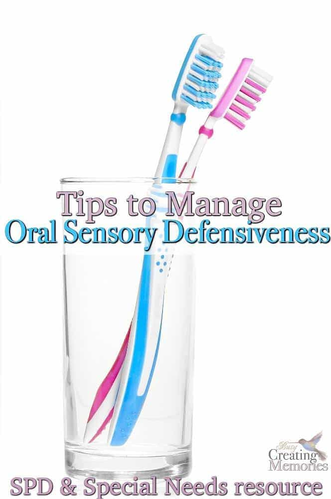 7 Tips for Oral Sensory Defensiveness and toothbrushing