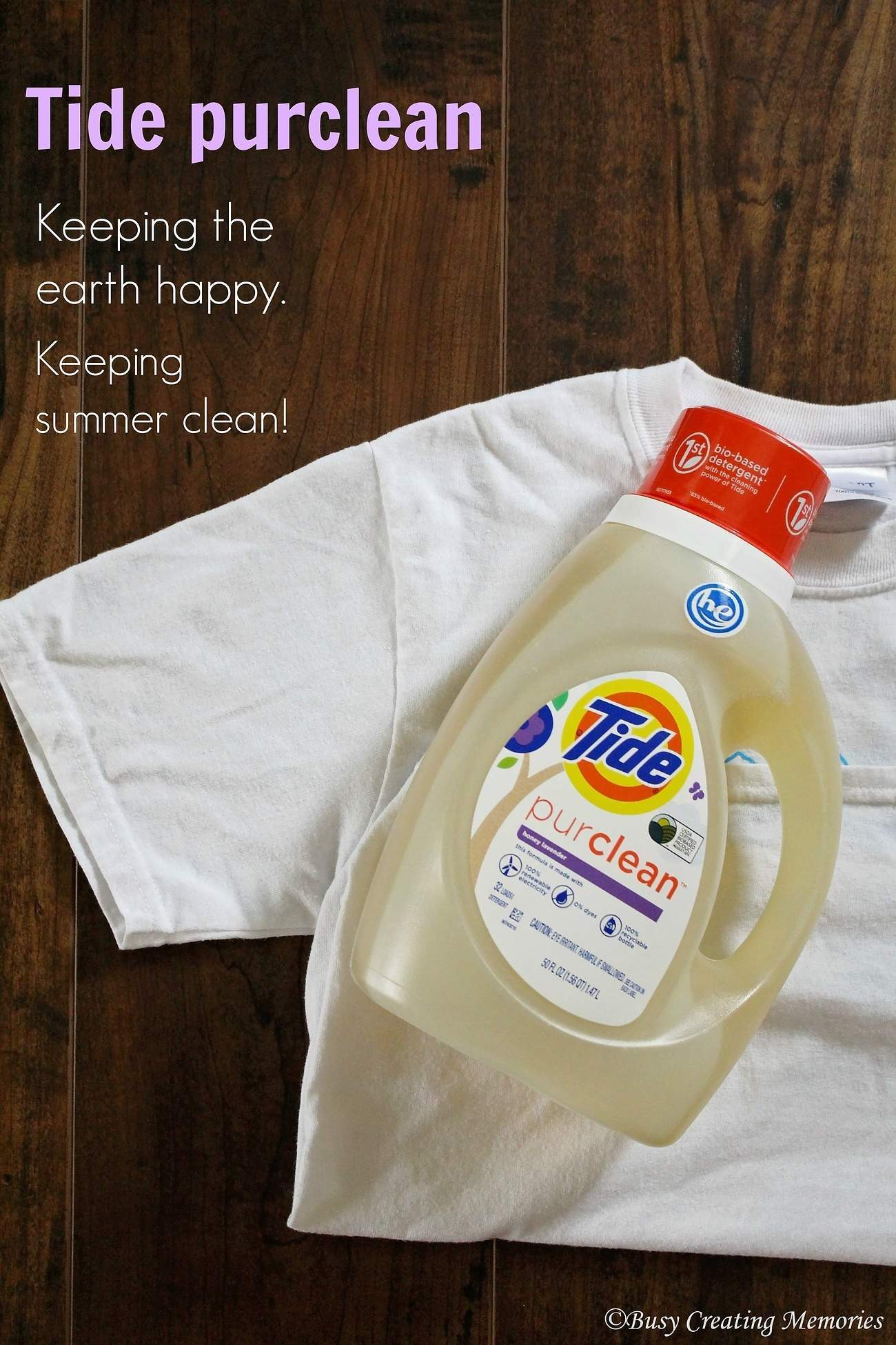 Tide pureclean keeps summer fun and clean!