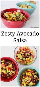 Zesty Avocado Salsa