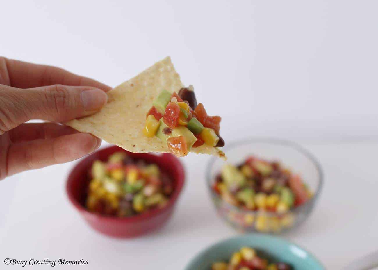 Zesty party salsa