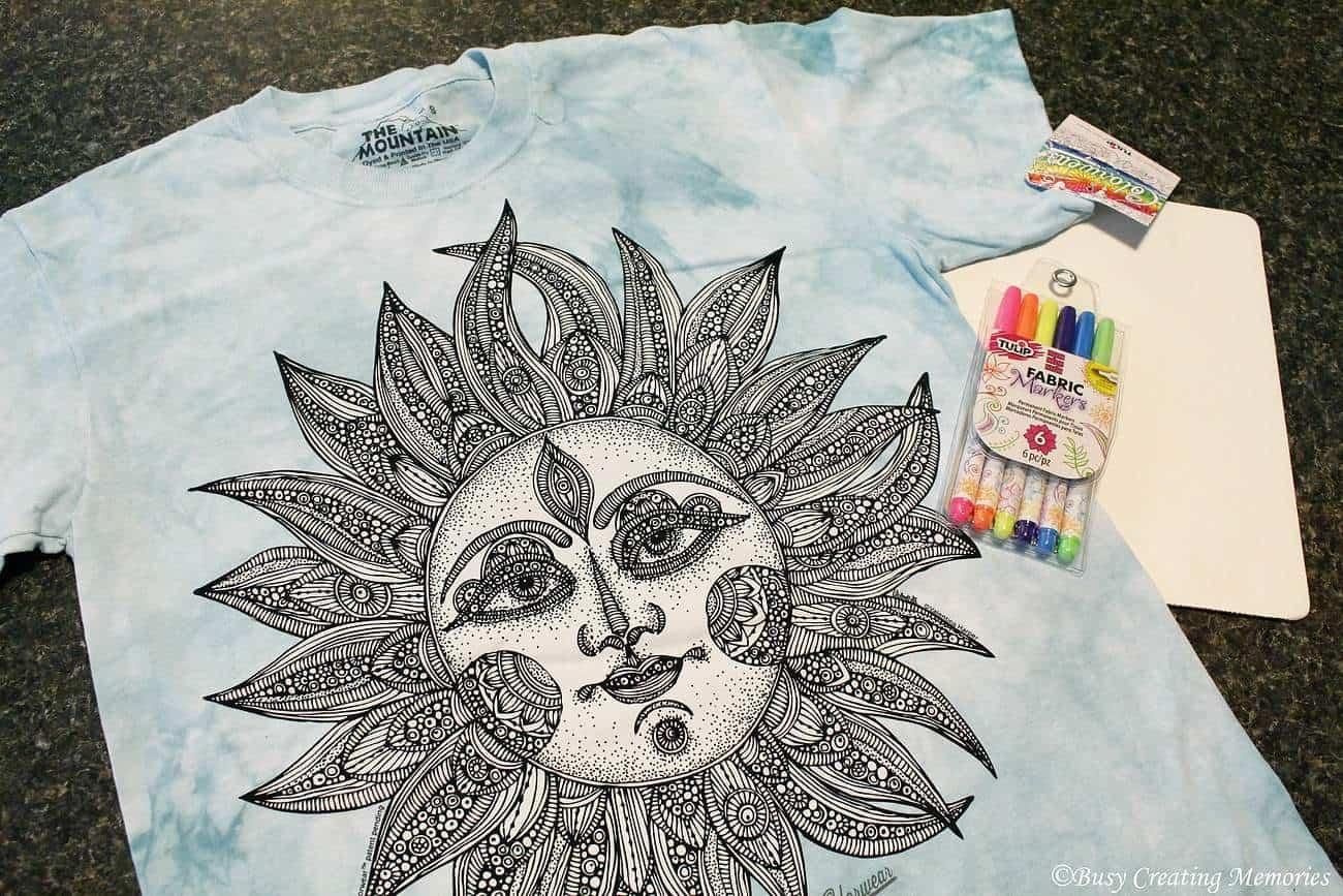 ColorWear Sun design