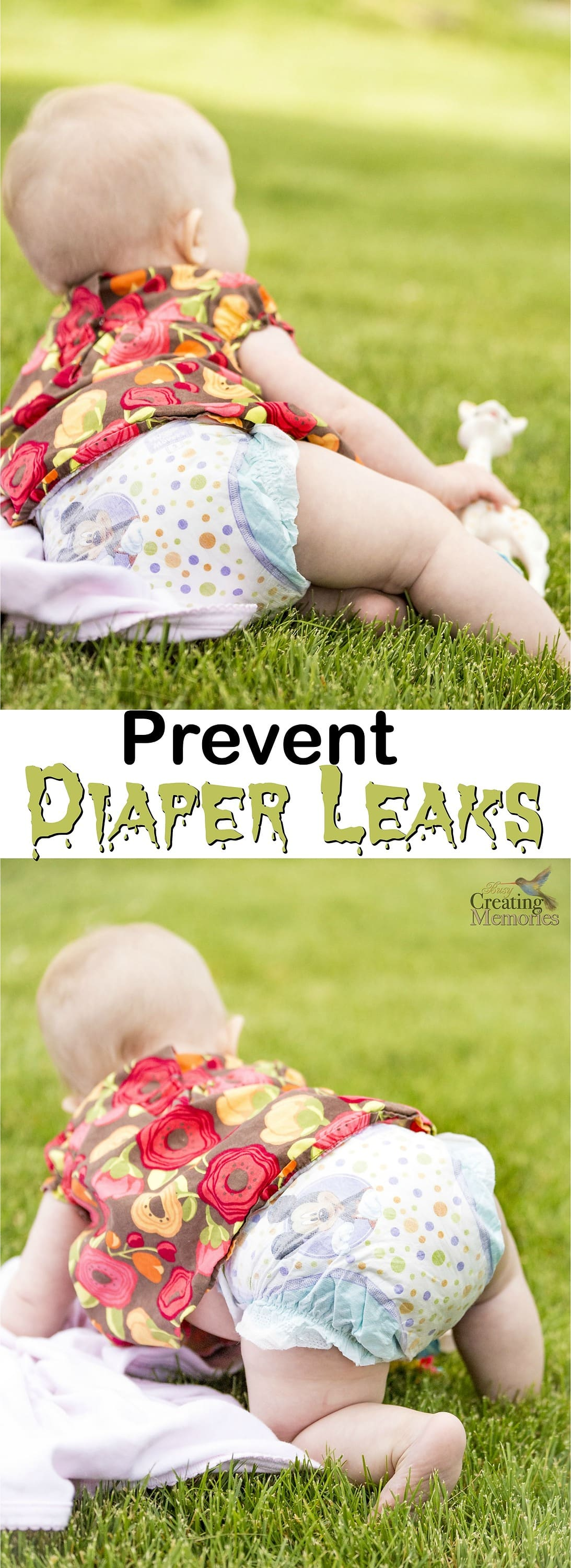 No parent likes to deal with diaper leaks! Try these top five tried and true tips to prevent diaper leaks in the first place! Plus tips to pick the best diaper for your child.