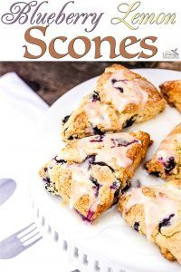 Blueberry Lemon Scone Recipe