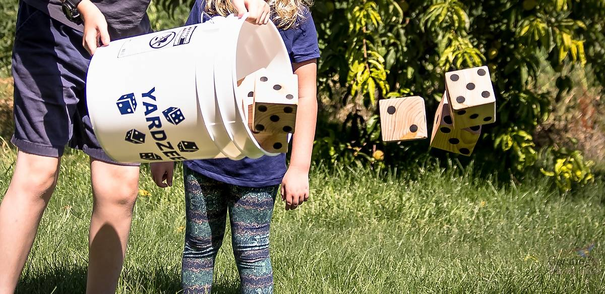 Outdoor Games for Kids + DIY Yardzee