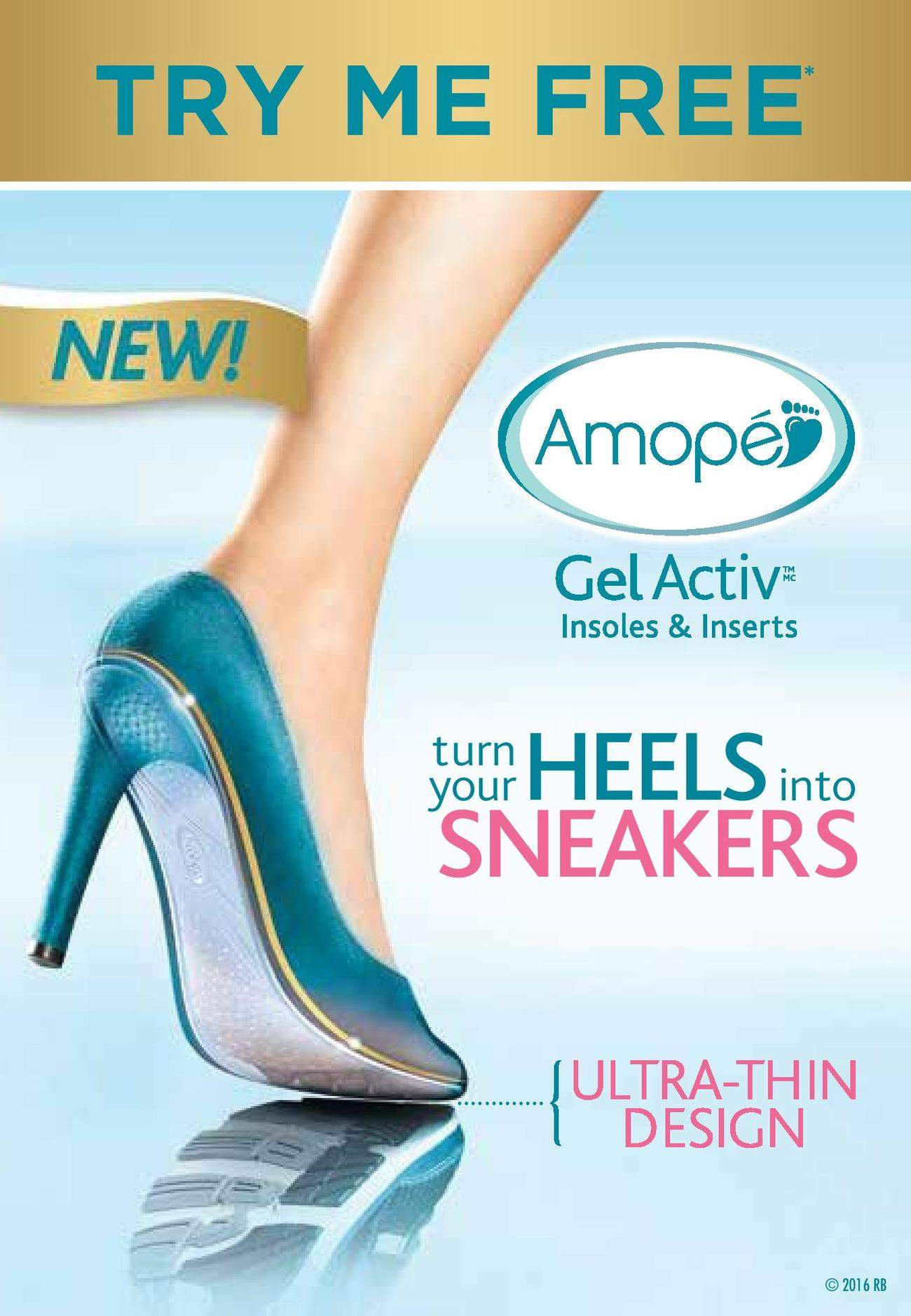 How to Make shoes comfortable again with Amopé!