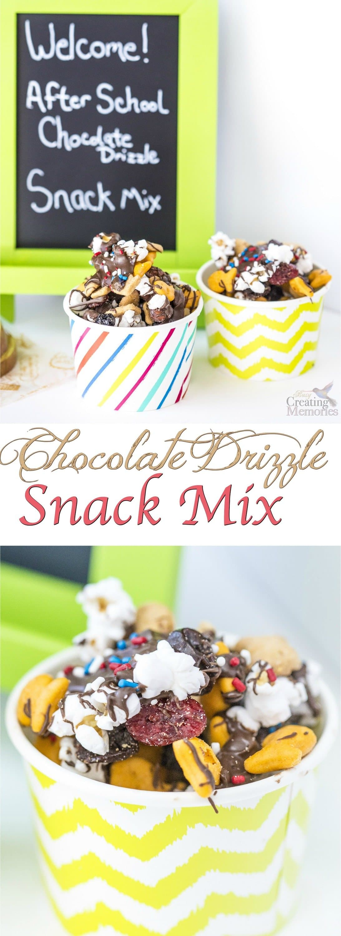 A smarter choice Snack Mix full of your family's favorites! Similar to a White Trash Treat, only with smarter ingredients. Great after school snack, travel mix, or for weekend movie party!