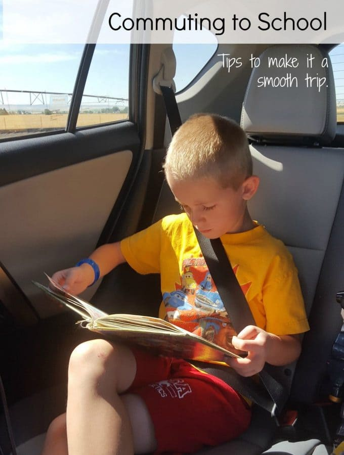Tips to Help when Commuting to School