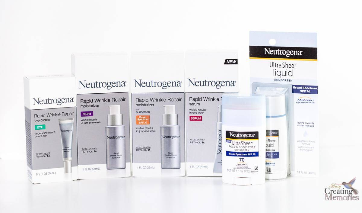 Anti-Aging Wrinkle Repair 7 Day Experiment With Neutrogena