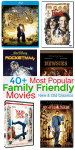 Popular Family Friendly Movies for Family Movie Night
