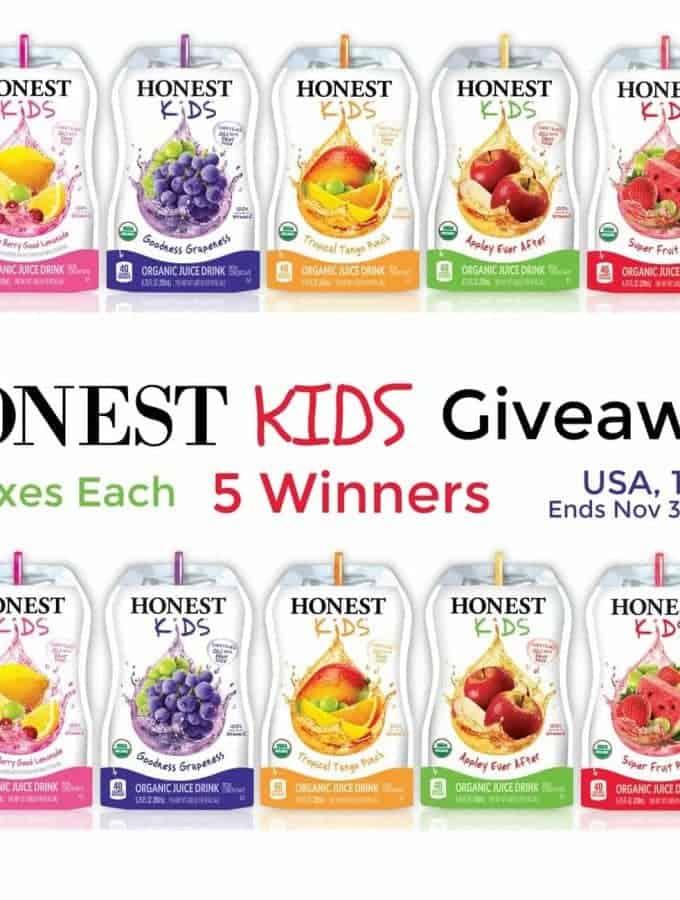 Honest Kids Juice Giveaway
