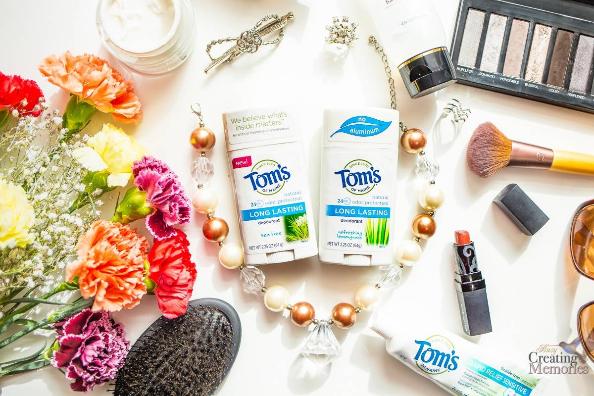 A Natural way to Stay fresh w/ Tom's Of Maine