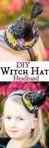 DIY Witch Hat Headband