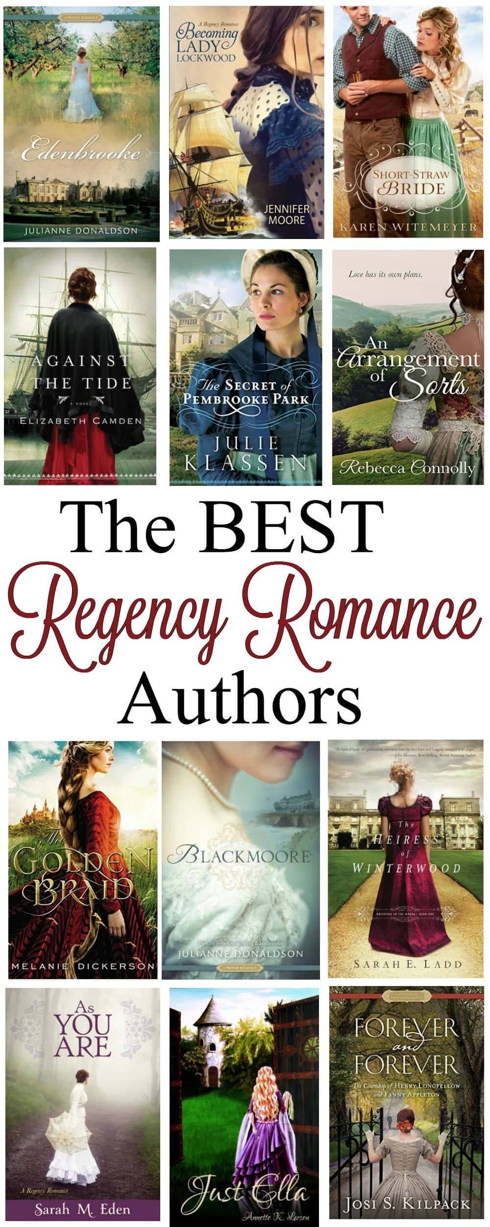 If you love to read Historical Fiction & Young Adult novels look no further than this Top Regency Romance Authors List! A collection of the best Clean Romance Authors to find a plethora of books to fill the hours!