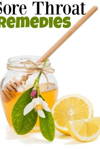Sore Throat Remedies that actually work!
