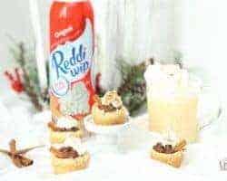 Eggnog Cookie Cups Easy Chocolate filled Christmas Cookies
