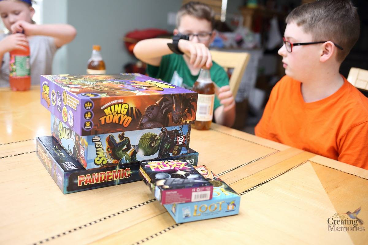 5 Tips for a Stress Free Family Game Night