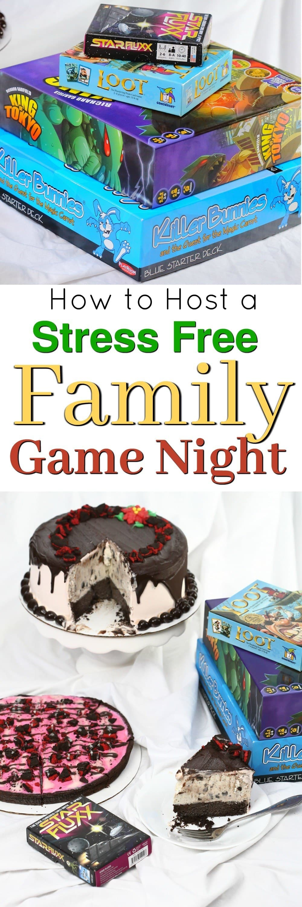 Planning a Family Games Night shouldn't mean more work for mom! Top 5 Tips for a successful and stress-free family game night and create lasting memories!