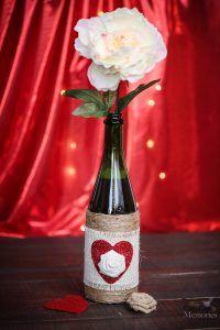 DIY Upcycled Bottle Vase