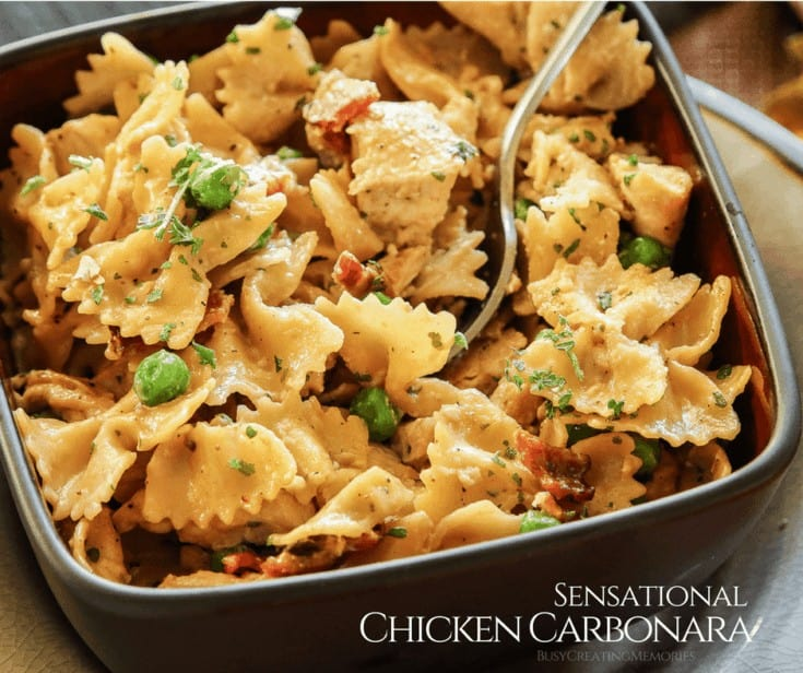 Sensational Chicken Carbonara Recipe