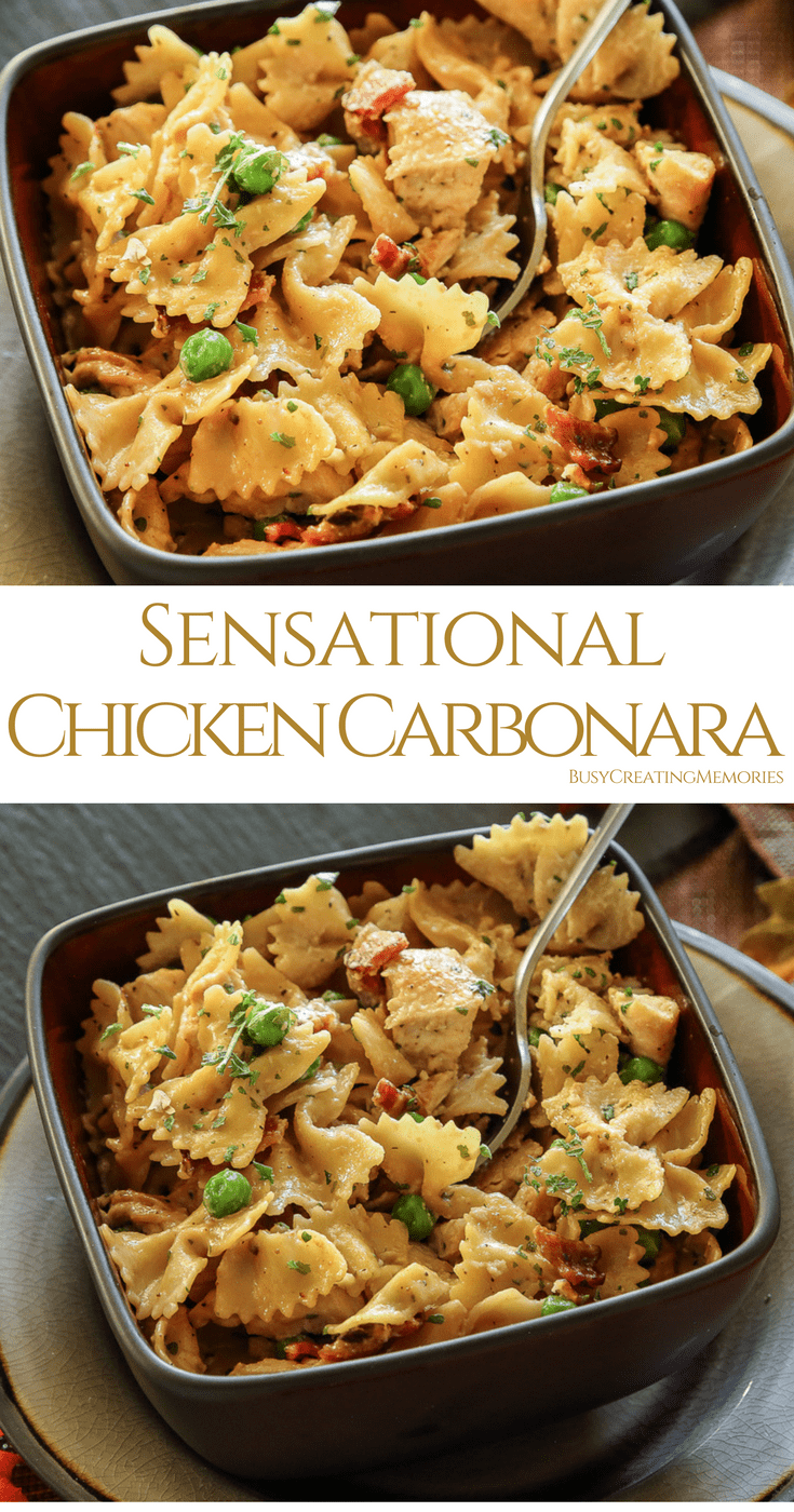 Sensational Chicken Carbonara Recipe that Leaves You Wanting More
