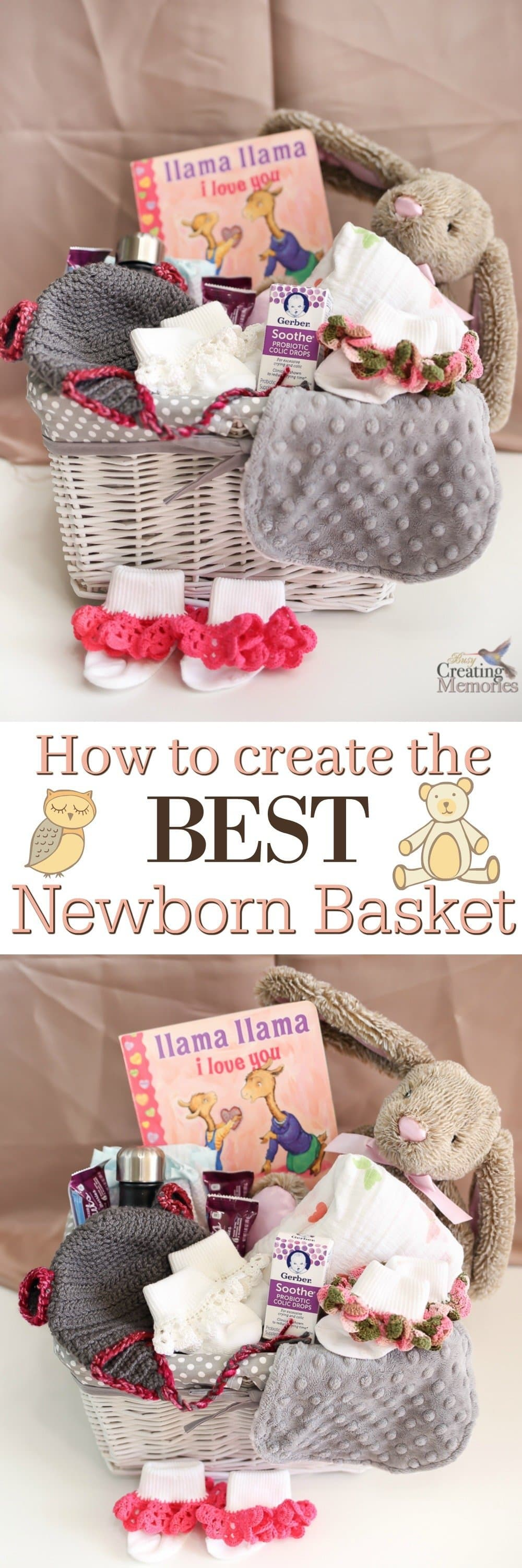 Don't give the same old boring gifts after a new baby arrives! Learn how to make the best newborn gift basket and the best items that stand out and help the new mom!